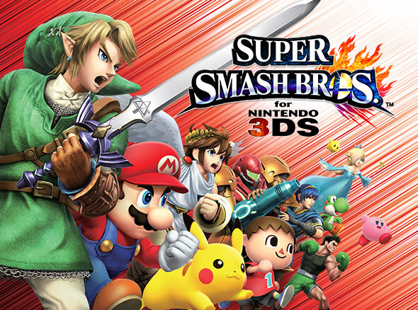 <b>Super Smash Bros. for Nintendo 3DS</b>