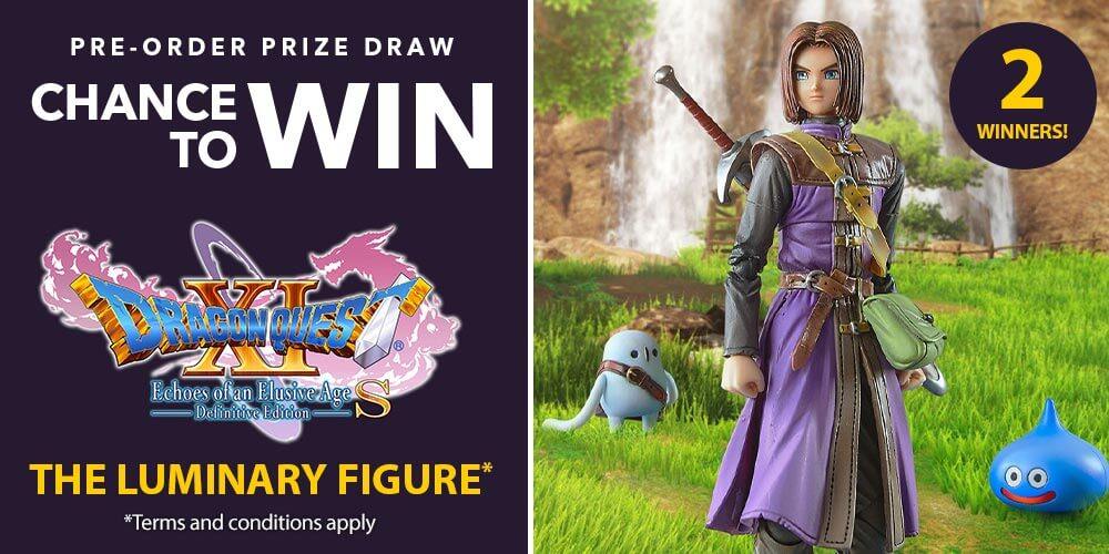 DRAGON QUEST XI S: Echoes of an Elusive Age - Pre-order Prize Draw