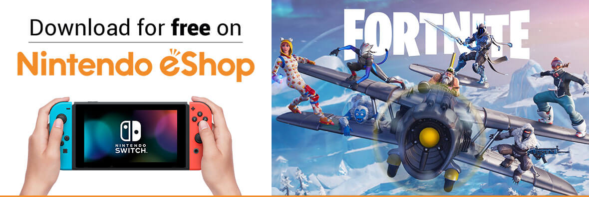 Fortnite - Download for free on Nintendo eShop
