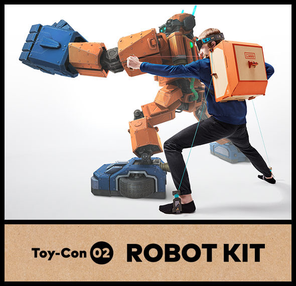 <b>Nintendo Labo Toy-Con 02: Robot Kit - Replacement Kits</b>