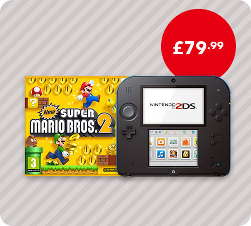 <span style='color: #998B8B;'><b>Nintendo 2DS</b></br></br>from £79.99</span>