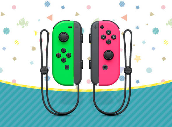 <b>Nintendo Switch Joy-Con Controllers</b>