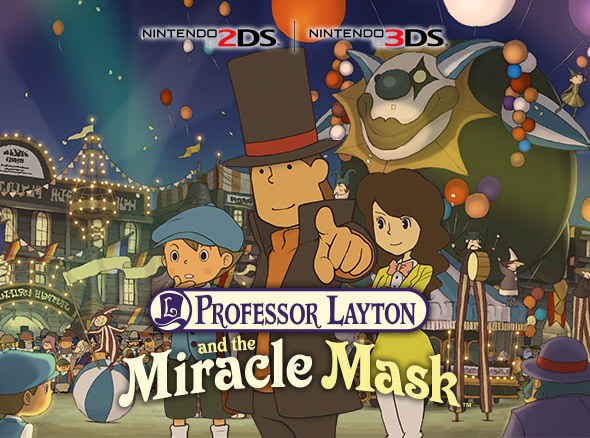 Professor Layton and the Miracle Mask - Nintendo 2DS | Nintendo 3DS