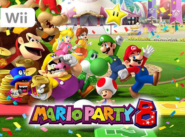 <b>Mario Party 8 (Wii)</b>
