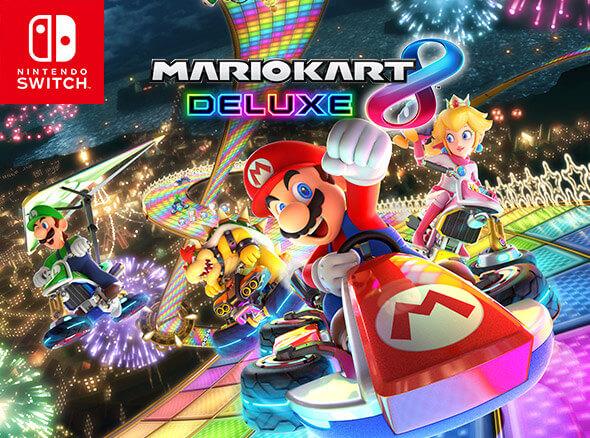<b>Mario Kart 8 Deluxe</b>