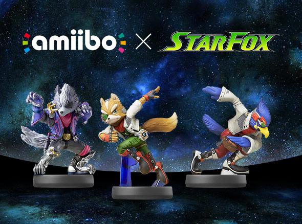 Star Fox amiibo