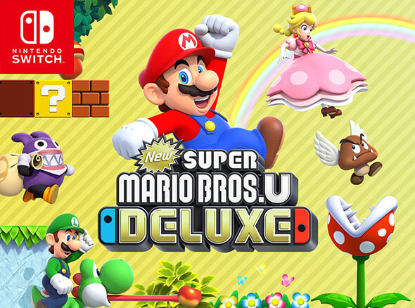 <b>New Super Mario Bros. U Deluxe</b>