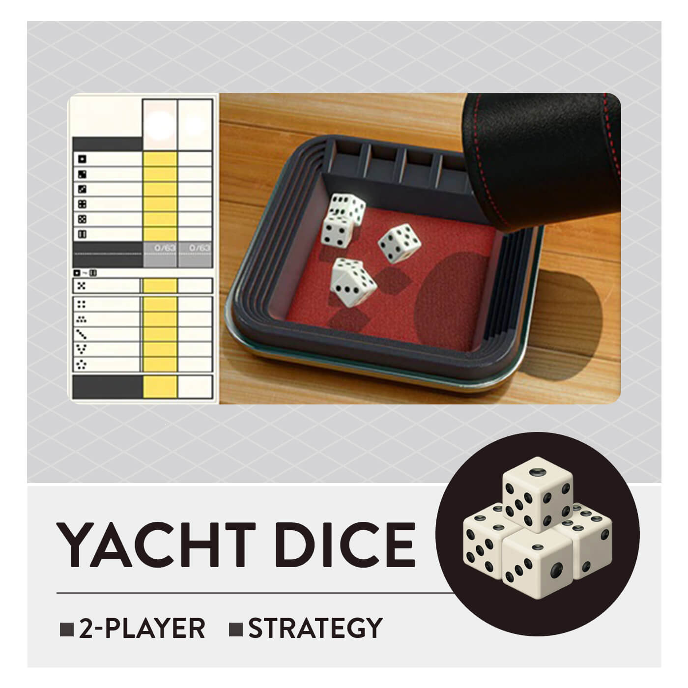 51 Worldwide Games - Yacht Dice