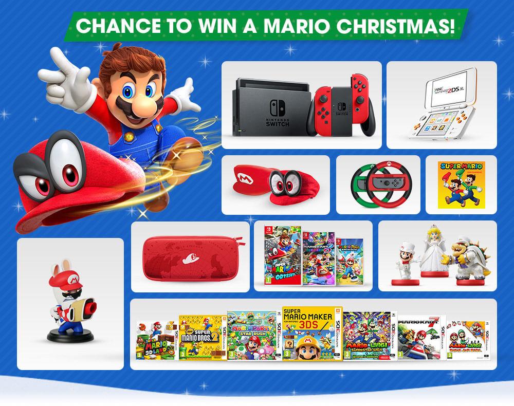 Win a Mario Christmas! | Nintendo Official UK Store