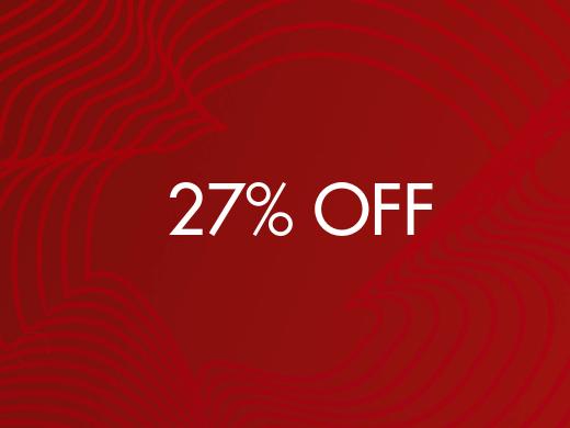27% Off
